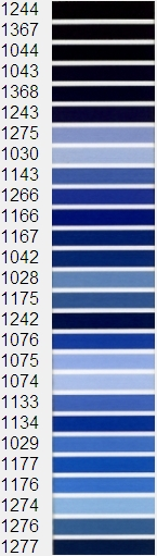 below is our standard madeira color chart for embroidery since you are viewing these on a computer screen the actual colors may vary - Madeira Color Chart